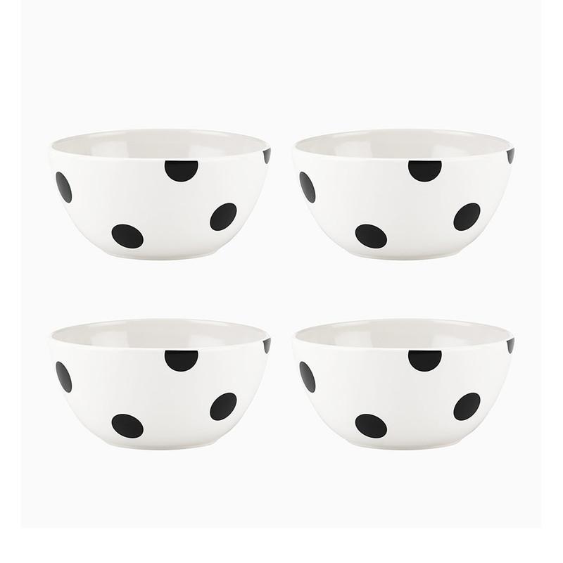 Kate Spade Deco Dot All-Purpose Bowls