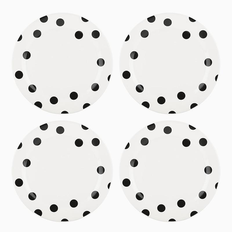 Kate Spade Deco Dot Dinner Plates
