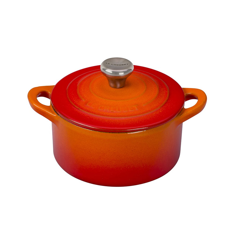 Le Creuset Cast Iron Mini Cocotte in Flame