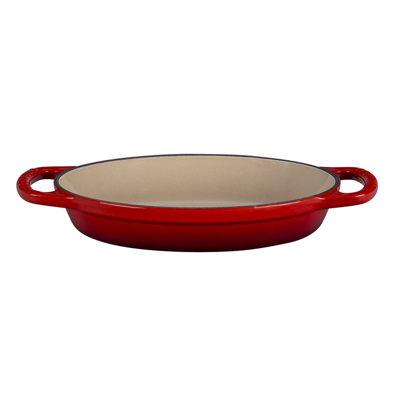 Le Creuset Signature Cast Iron Oval Baker in Cerise