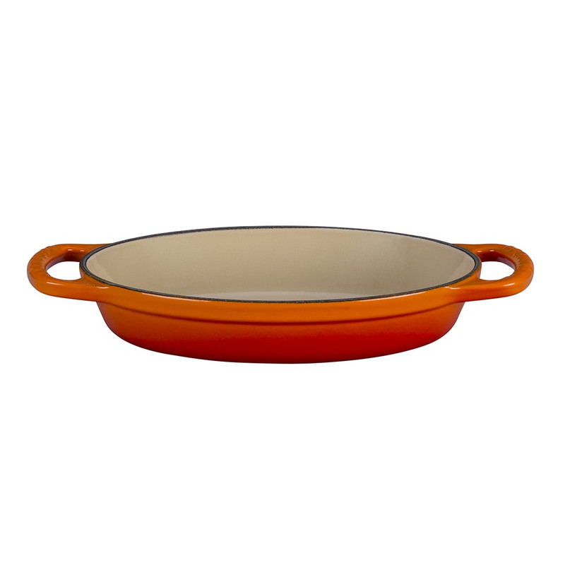 Le Creuset Signature Cast Iron Oval Baker in Flame