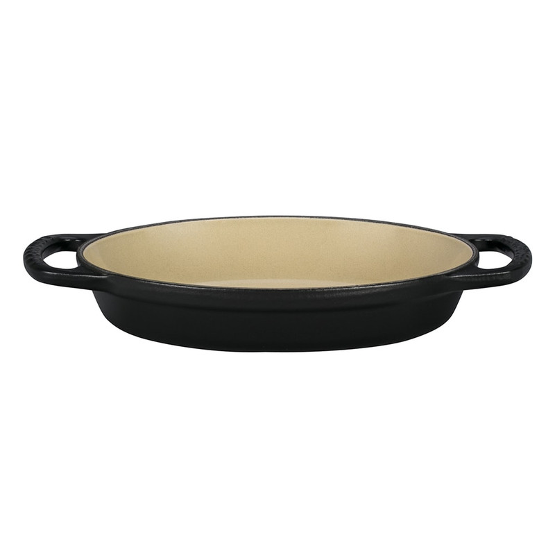 Le Creuset Signature Cast Iron Oval Baker in Licorice