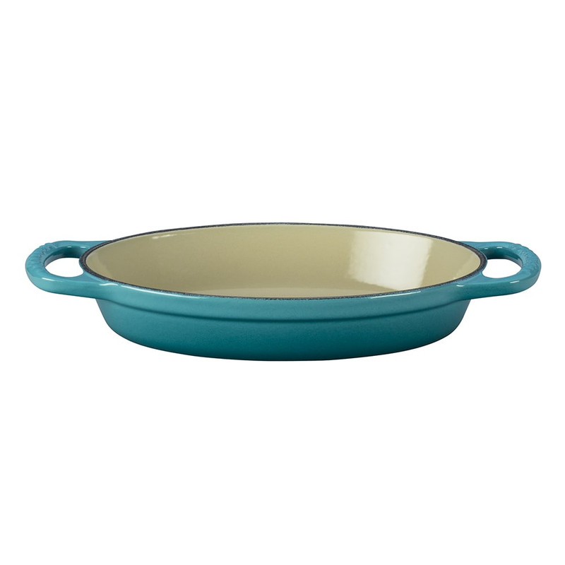 Le Creuset Signature Cast Iron Oval Baker in Caribbean