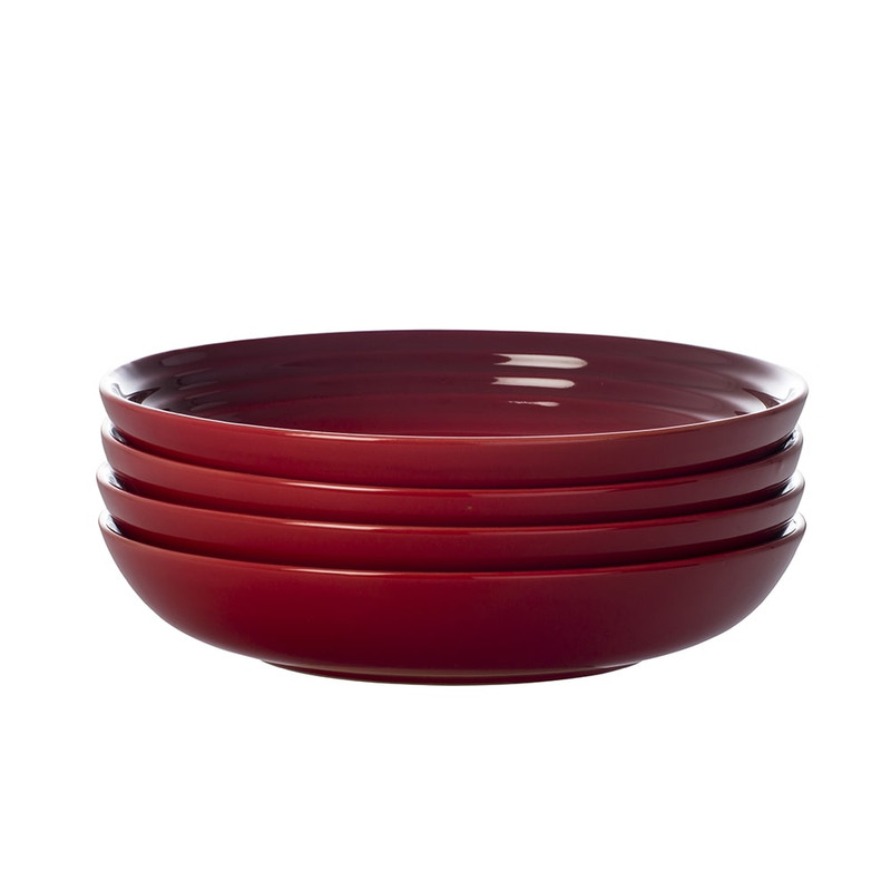 Le Creuset 8.5-Inch Pasta Bowls in Cerise
