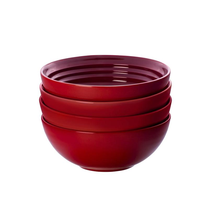 Le Creuset Soup Bowls in Cerise