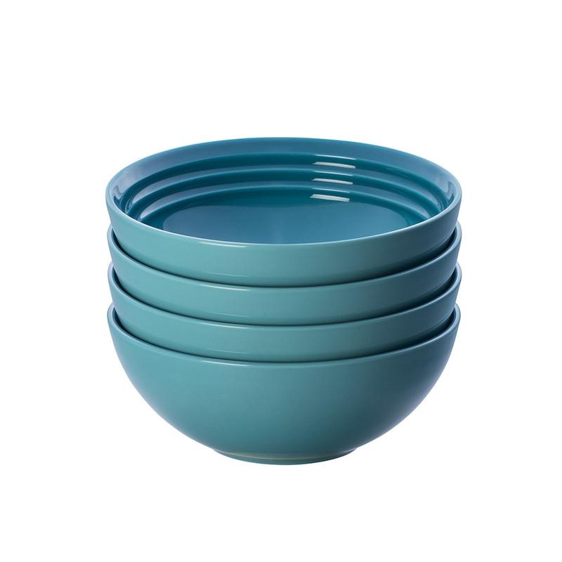 Le Creuset Soup Bowls in Caribbean