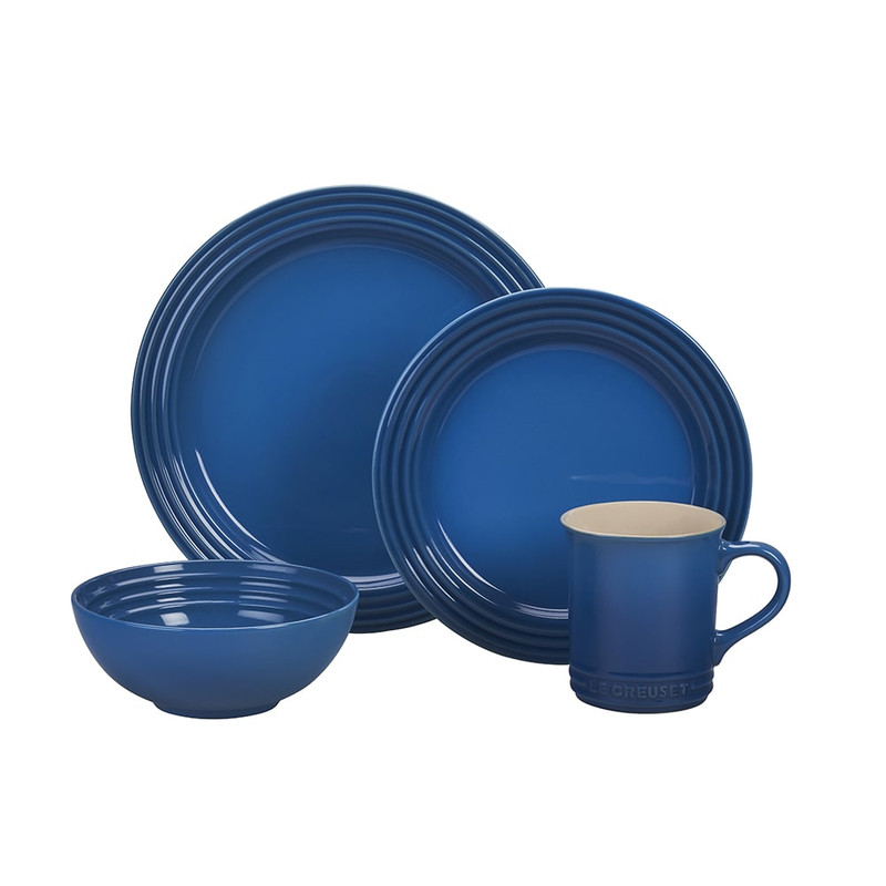 Le Creuset 16-Piece Dinnerware Set in Marseille