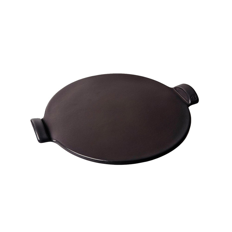 Emile Henry Smooth Pizza Stone in Charcoal
