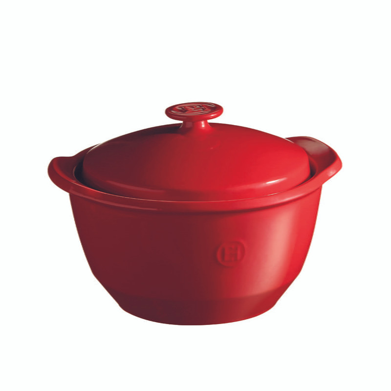 Emile Henry One Pot in Burgundy