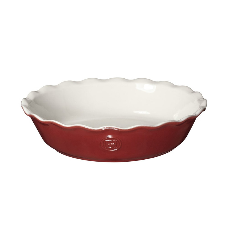 Emile Henry Pie Dish in Rouge