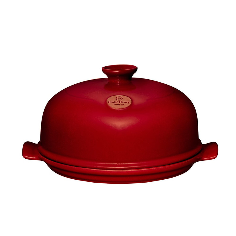 Emile Henry Bread Cloche in Burgundy