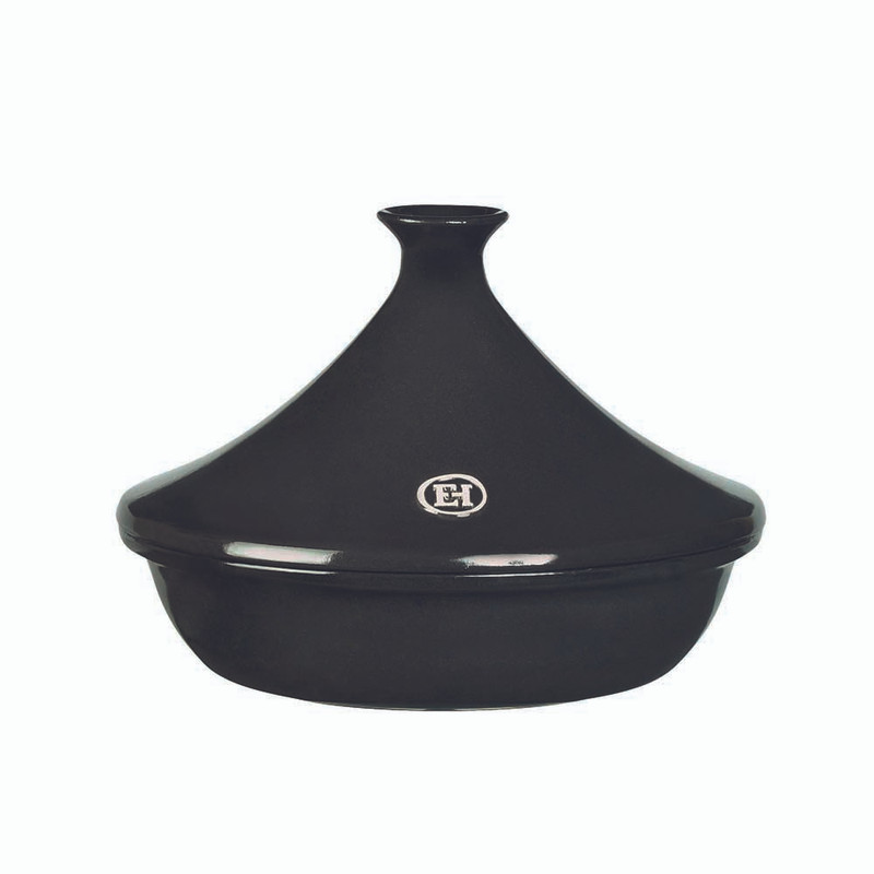 Emile Henry 2.1-Quart Tagine in Charcoal