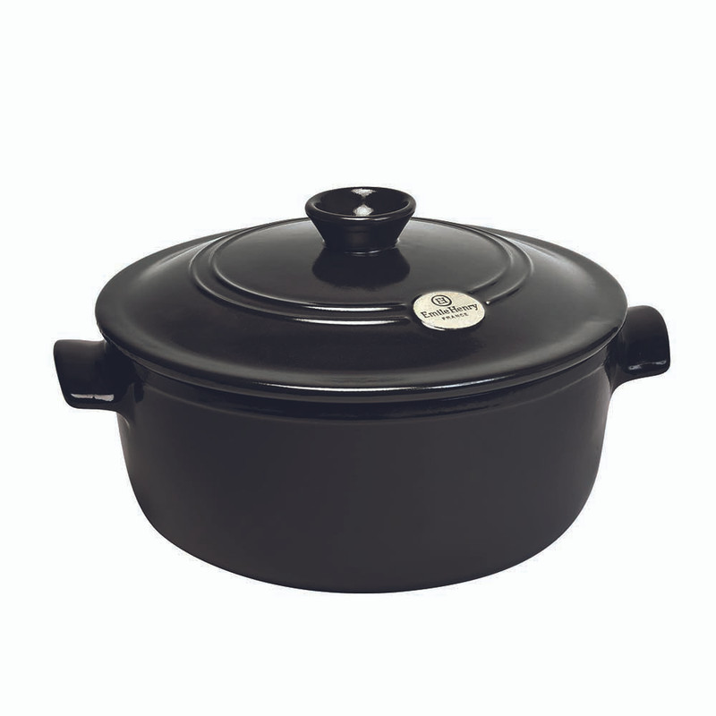 Emile Henry 5.5-Quart Dutch Oven in Charcoal