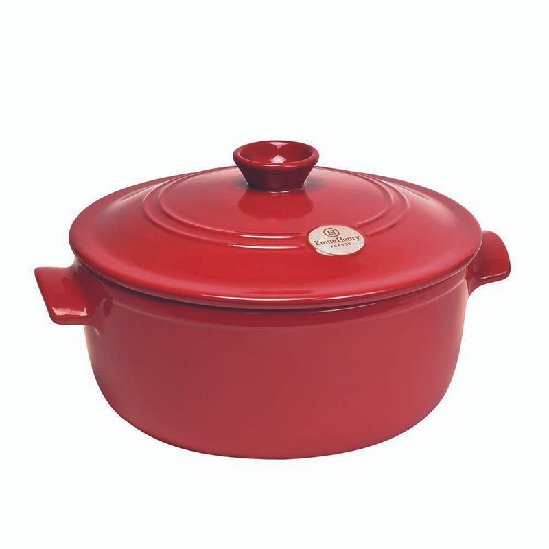 Emile Henry 5.5-Quart Dutch Oven in Burgundy