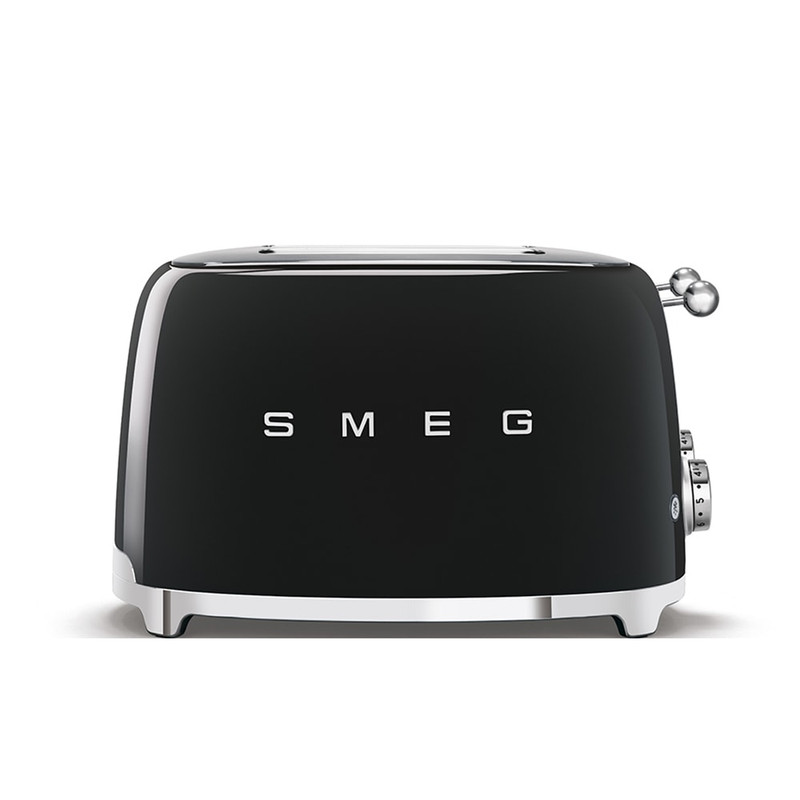 SMEG 4x4 Slice Toaster in Black