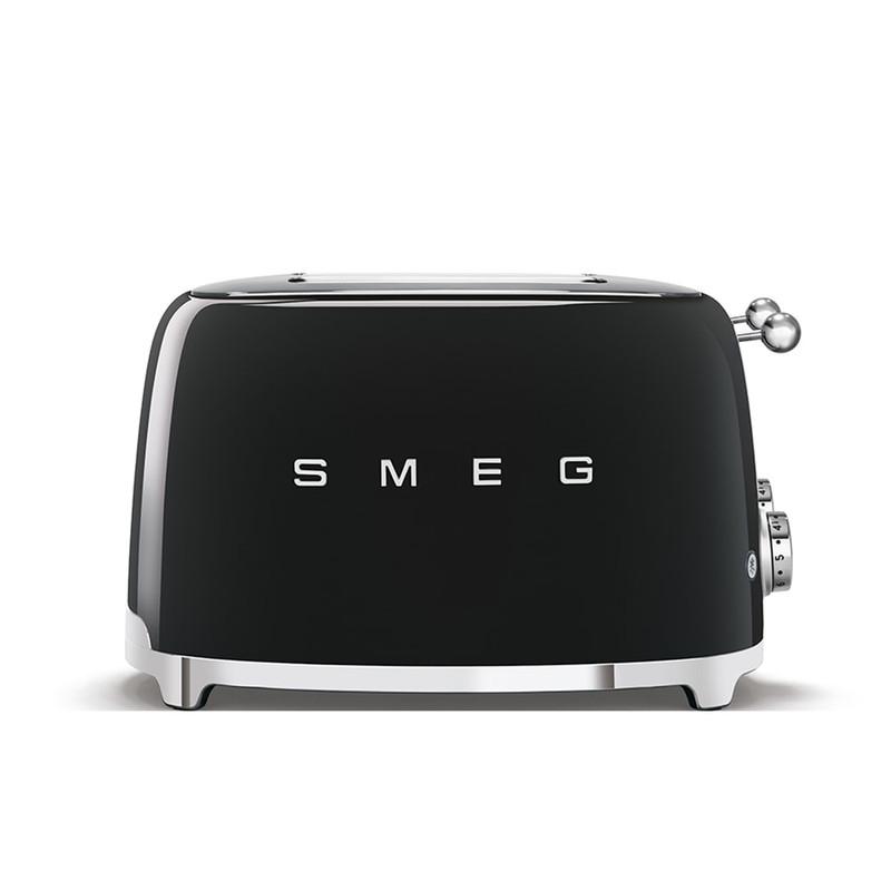 SMEG 4x4 Slice Toaster in Black