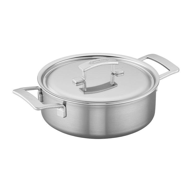 Demeyere Industry 5 Stainless Steel Deep Saute Pan