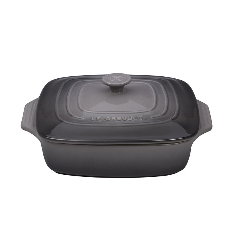 Le Creuset Square Casserole in Oyster