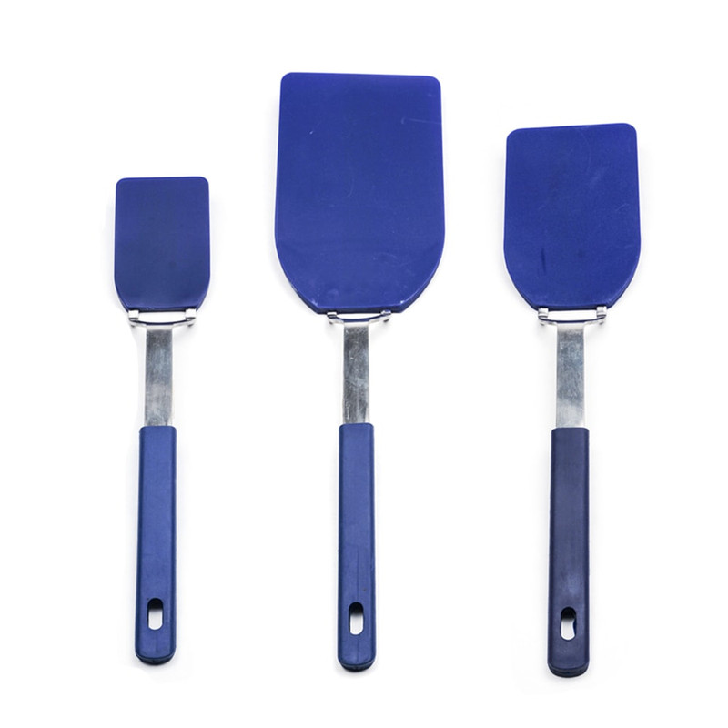 RSVP Endurance Flexible Nylon Spatula Set in Blue