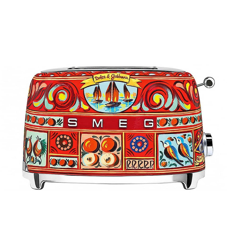 SMEG and Dolce&Gabbana 2-Slice Toaster