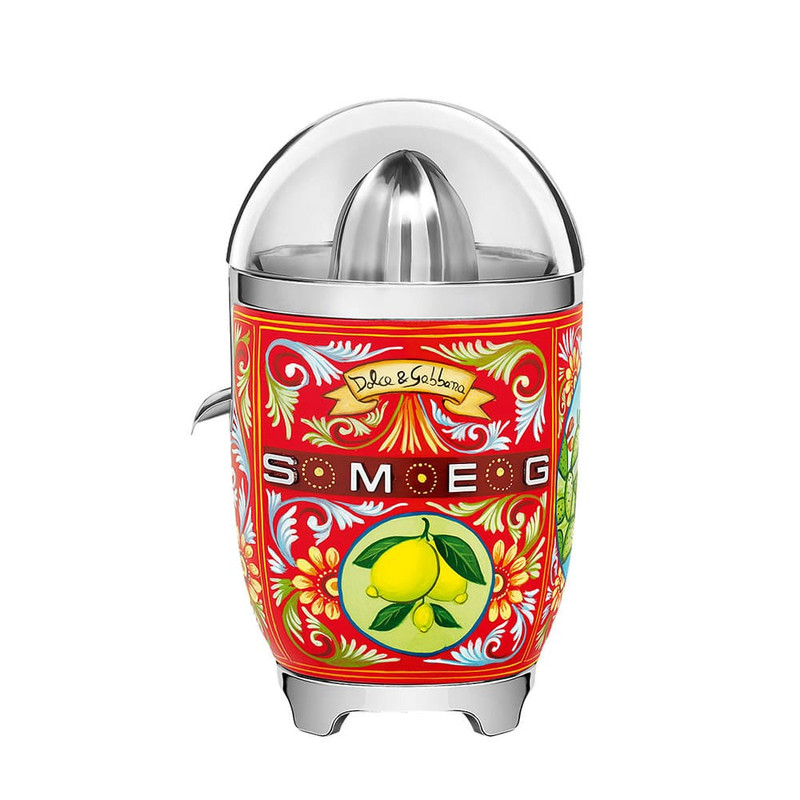 SMEG and Dolce&Gabbana Citrus Juicer