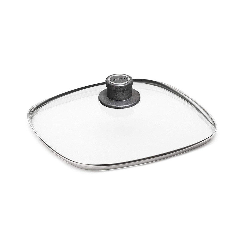 WOLL Diamond Lite 9.5-Inch Square Glass Lid