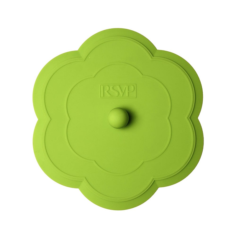 RSVP Endurance Silicone Sink Stopper in Green