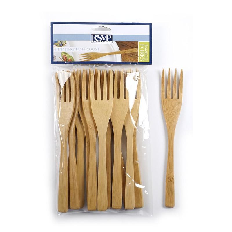 RSVP Endurance Bamboo Forks