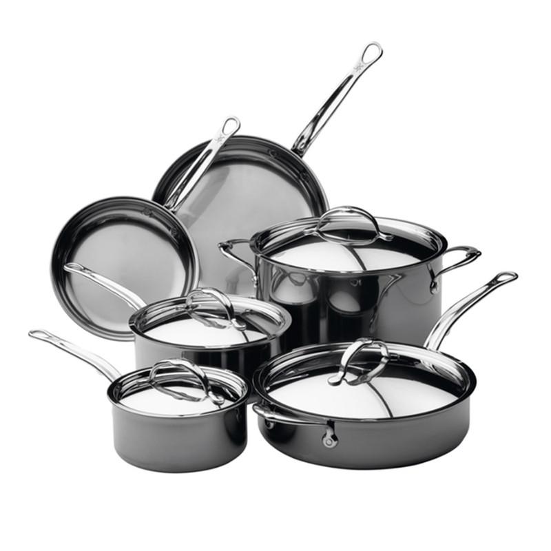 Hestan NanoBond 10-Piece Cookware Set