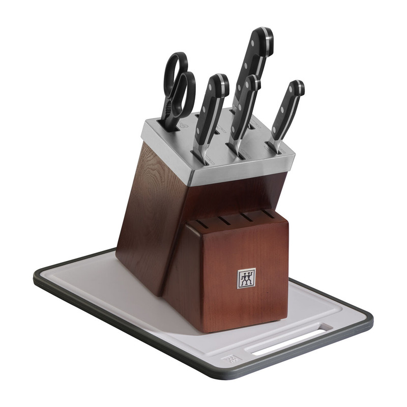 Zwilling Pro 7-Piece Self-Sharpening Knife Block Set