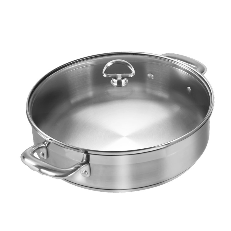 Chantal Induction 21 Steel Sauteuse