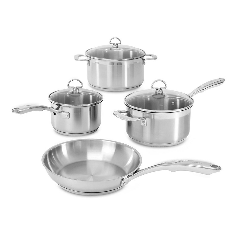 Chantal Induction 21 Steel 7-Piece Cookware Set