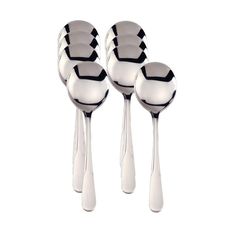 RSVP Endurance Monty Soup Spoons