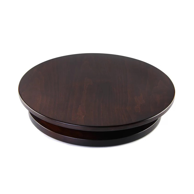 Martins Homewares Solano Tobacco Brown Lazy Susan