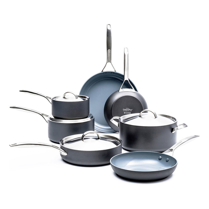 GreenPan Paris Pro 11-Piece Cookware Set