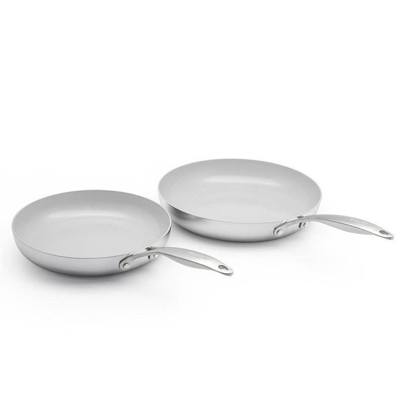 GreenPan Venice Pro 10- and 12-inch Fry Pan Set