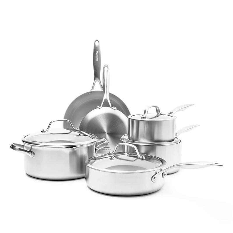 GreenPan Venice Pro 10-Piece Cookware Set