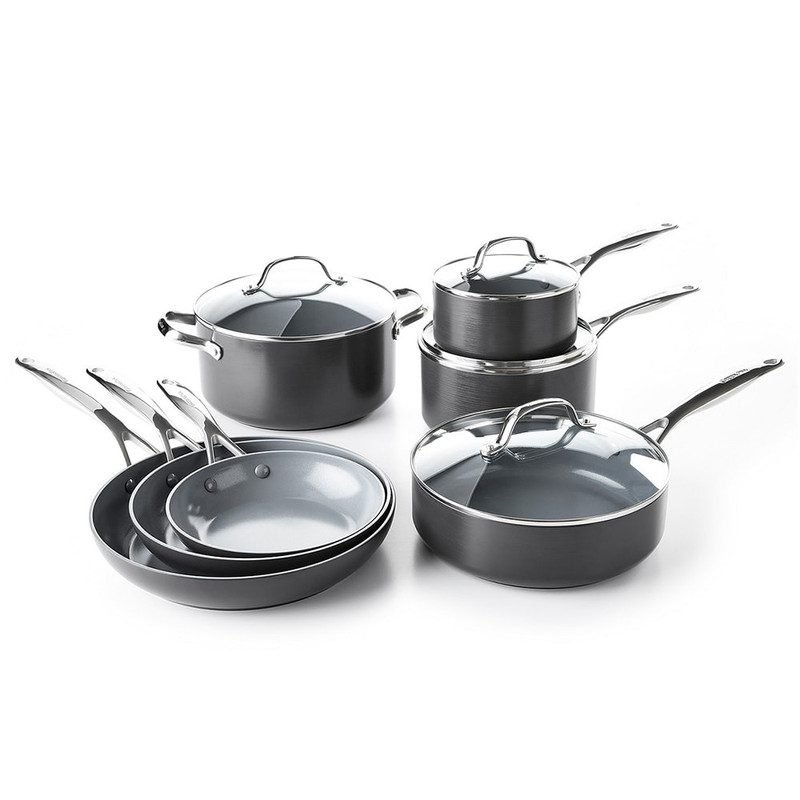 GreenPan Valencia Pro 11-Piece Cookware Set