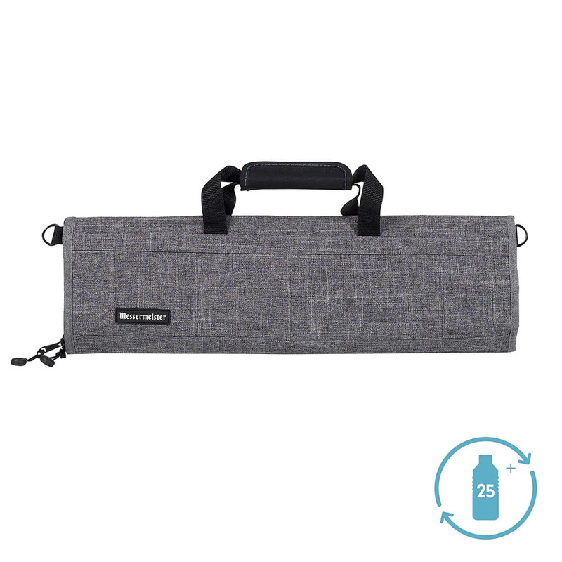 Messermeister 8-Pocket Preservation Knife Luggage in Heather Gray