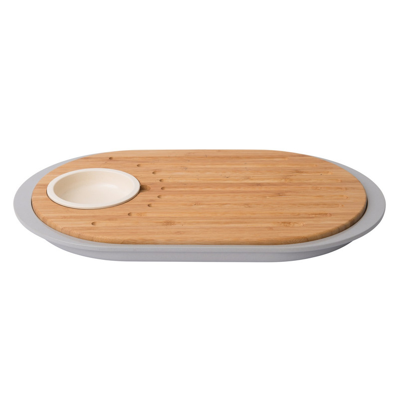 Berghoff Leo Tapas Cutting Board With Tray
