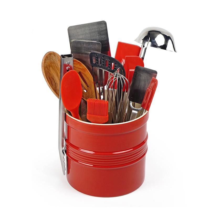 RSVP Ultimate Tool Crock Set in Red