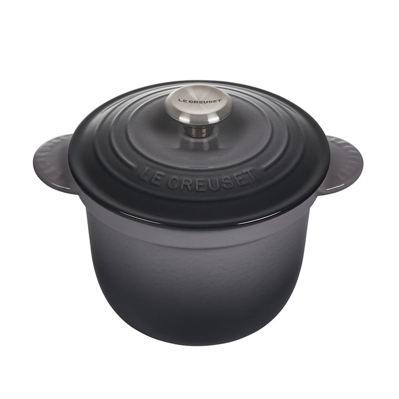 Le Creuset Cast Iron Rice Pot in Oyster