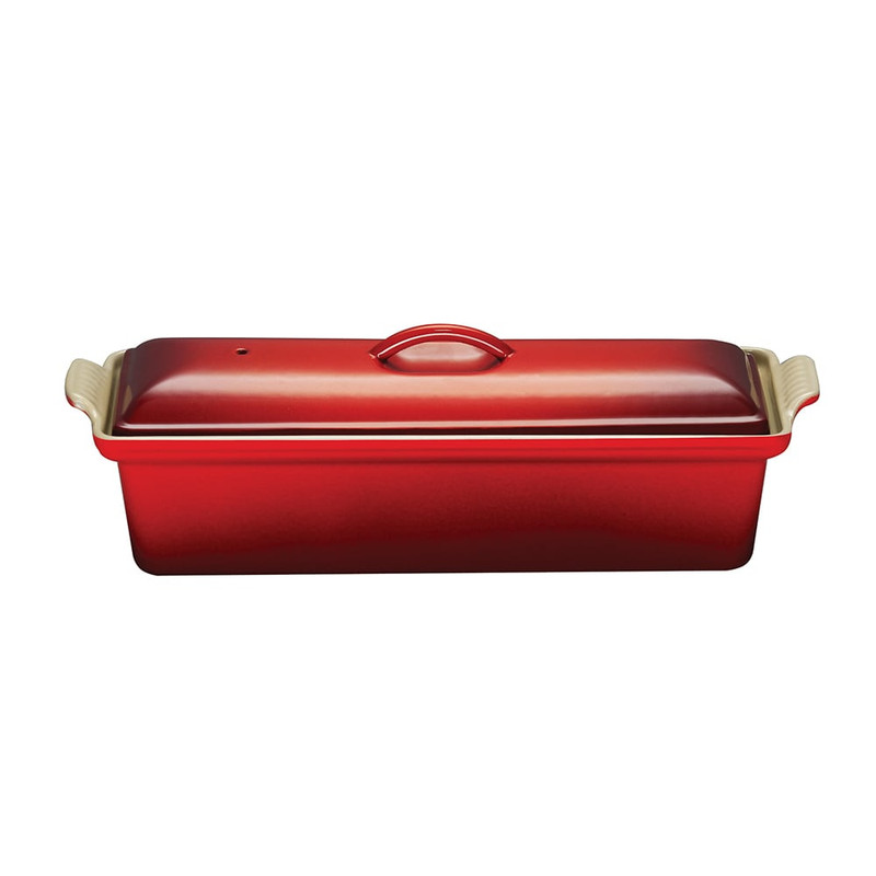 Le Creuset Cast Iron Pate Terrine in Cerise