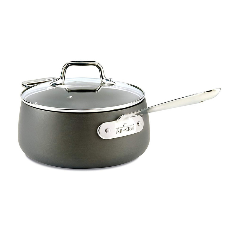 All-Clad 3.5-Quart HA1 Sauce Pan