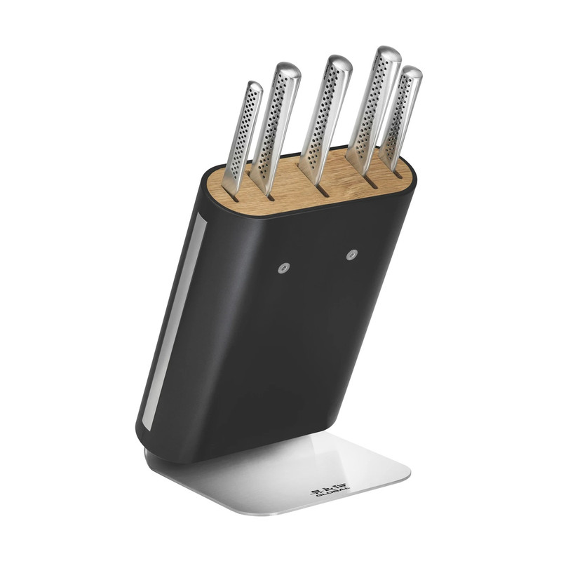 Global UKON 6-Piece Knife Block Set