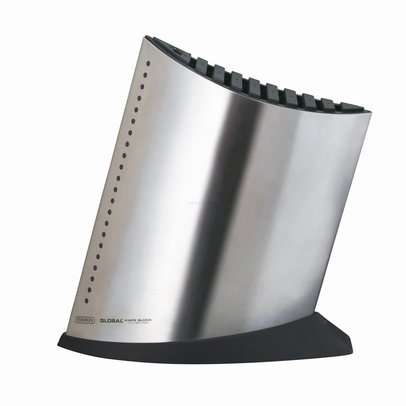 Global Stainless Ship Shape Knife Block