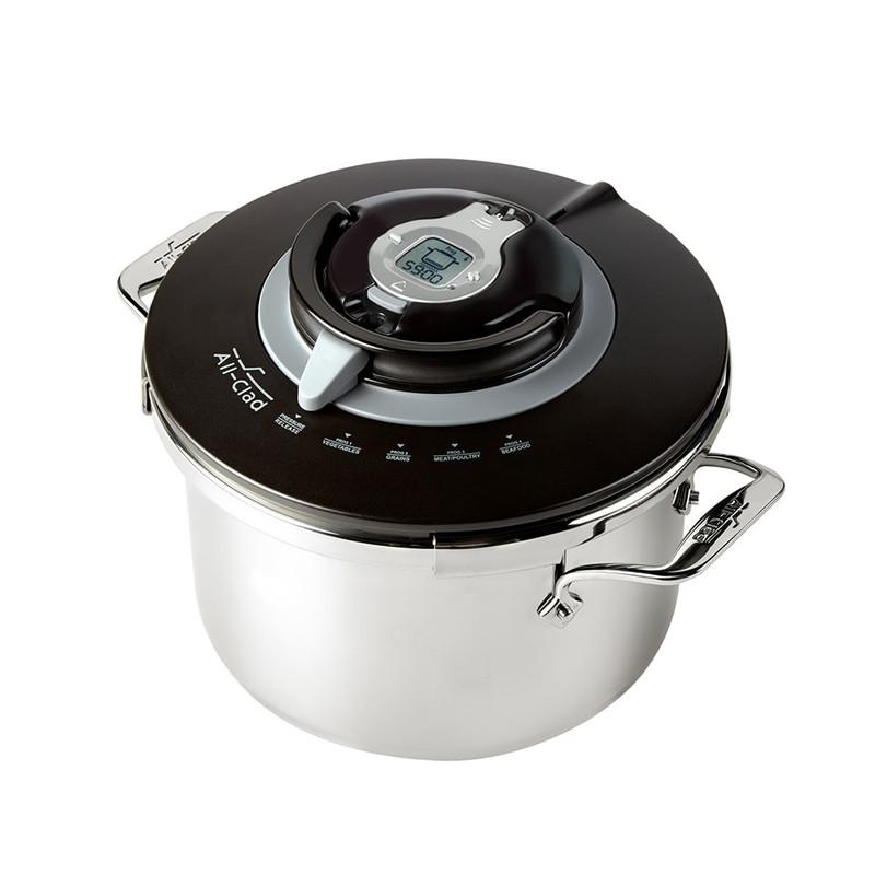 All-Clad PC8-Precision Stovetop Pressure Cooker