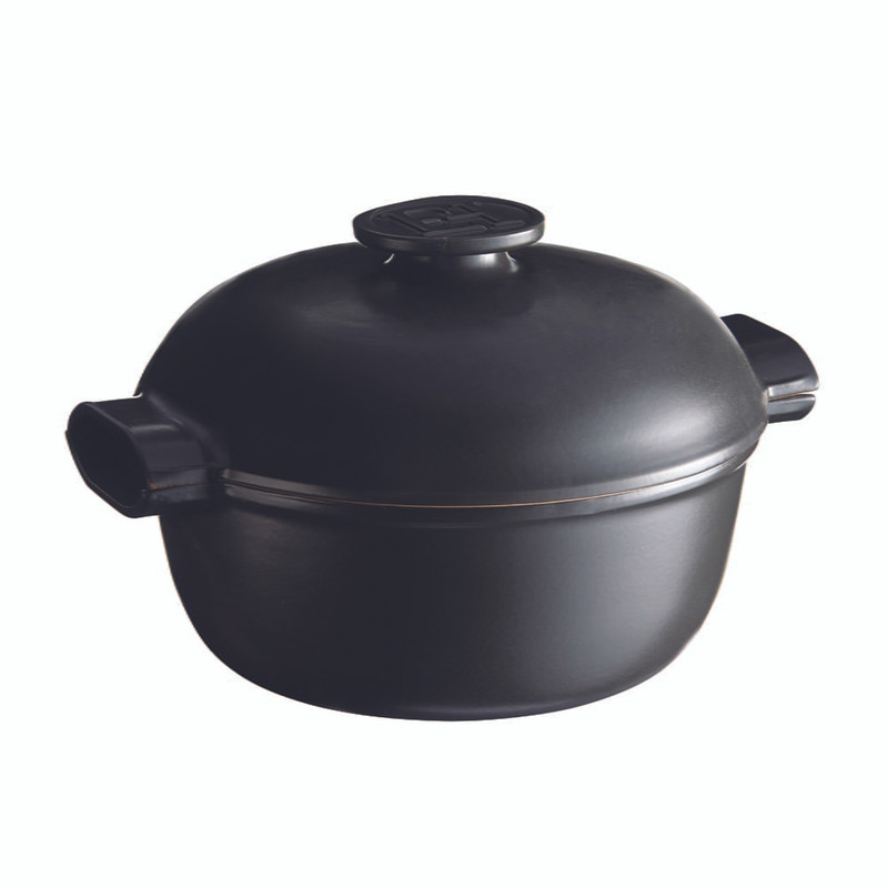 Emile Henry Delight 4.2-Quart Round Dutch Oven