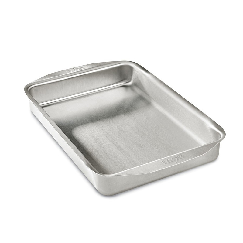 All-Clad D3 Stainless Steel Rectangular Baking Pan