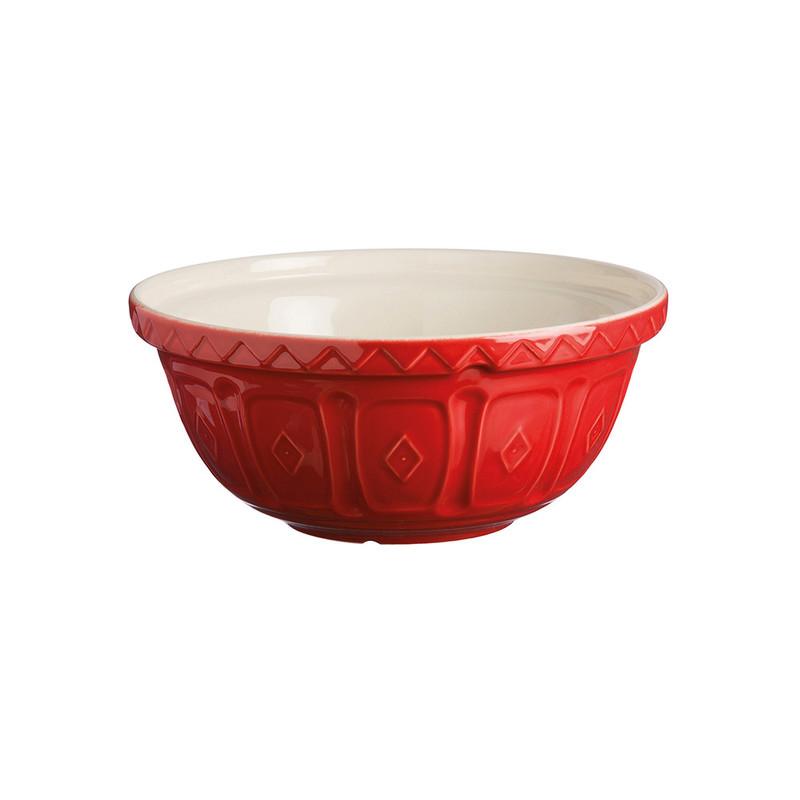 Mason Cash 9.5-Inch Red Mixing Bowl